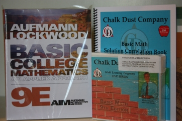 Chalk Dust Company Math Videolearning - Basic Math Value Set Course